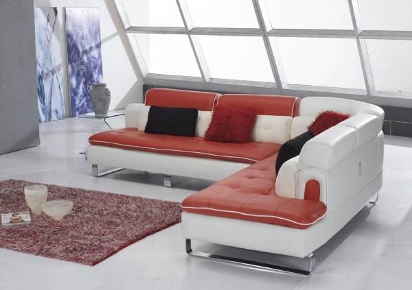 Модульный мягкий угловой диван в современном стиле
