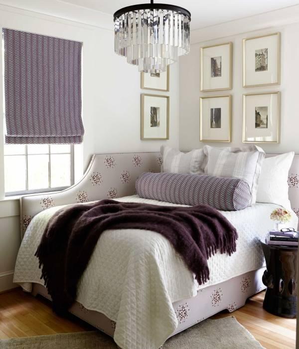Красивая угловая мягкая мебель - фото угловой кровати