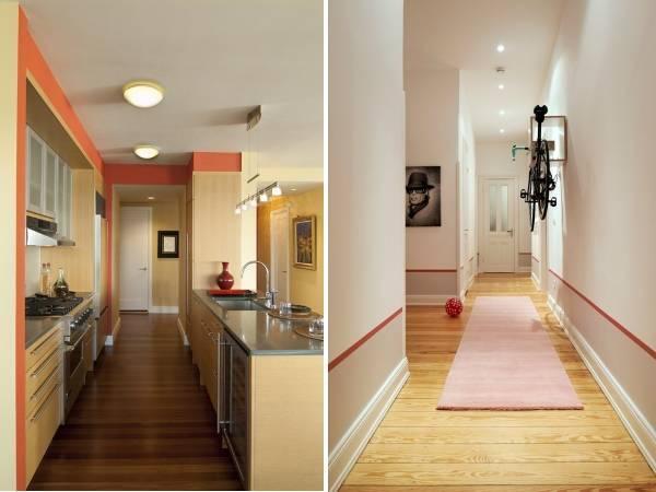 Яркий бордюр для обоев - фото комнат