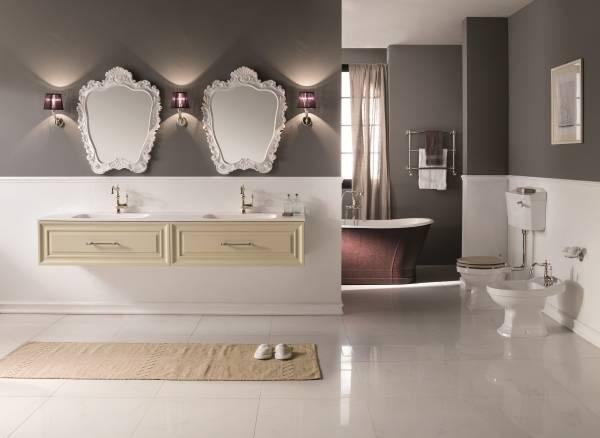 Как создать стиль прованс в ванной комнате