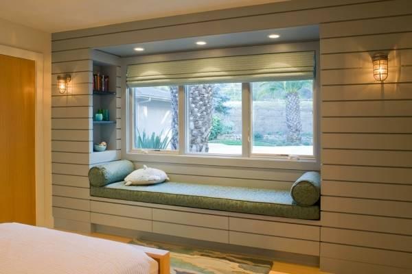 Окна ПВХ в дизайне комнаты