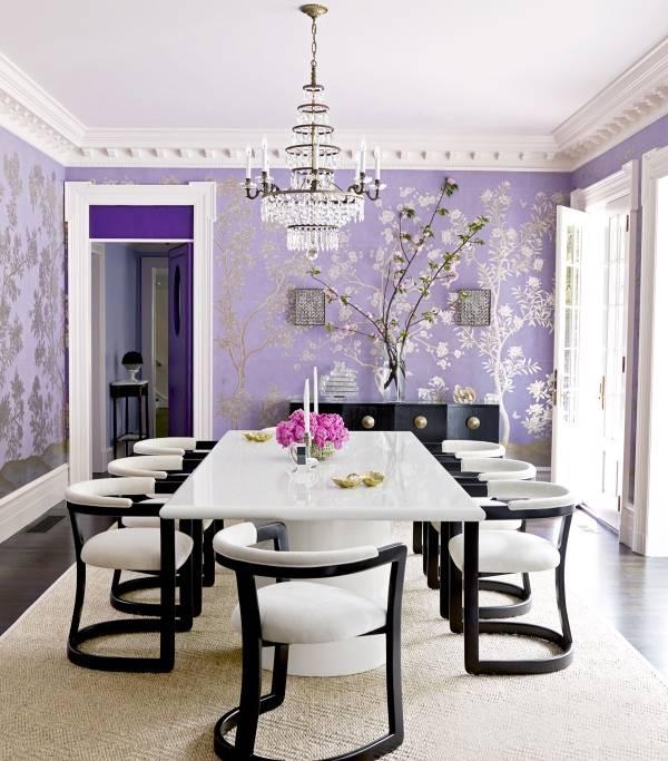 Красивый стол обеденный белый