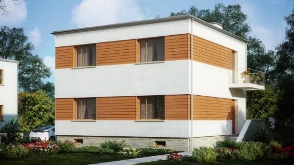 Деревянные фасады с панелями для фасада