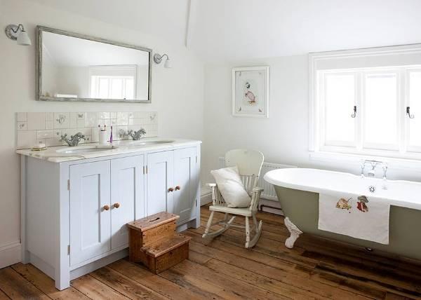 Детская ванная в стиле прованс фото