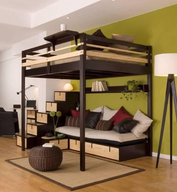 Кровать чердак Sample CH