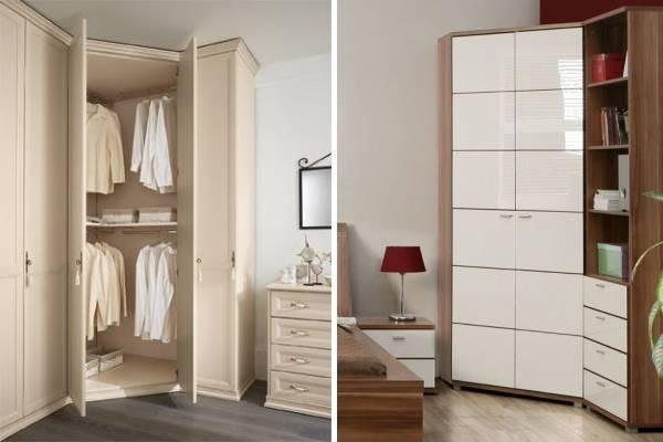 Лучшие гардеробные шкафы в спальне - 30 фото.