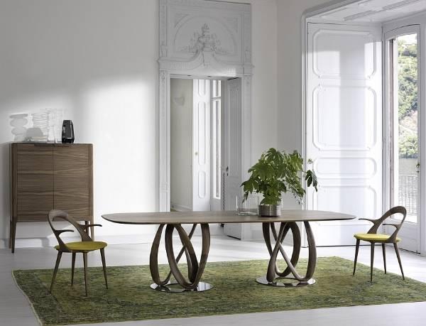Оригинальные обеденные столы и стулья