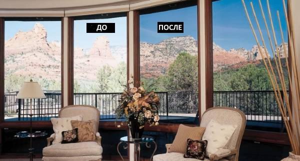 Качественные и красивые окна на фото