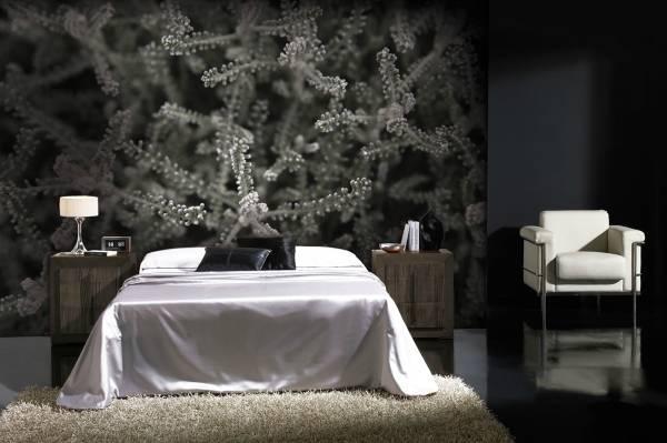 Оригинальные современные фотообои для спальни