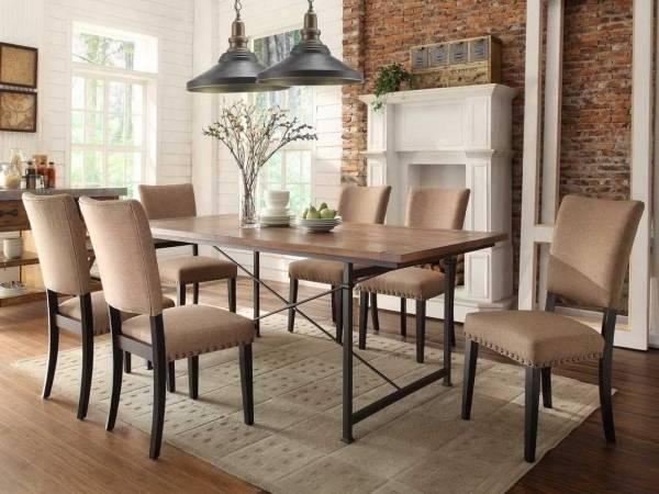 Стол обеденный для кухни в стиле лофт или индастриал