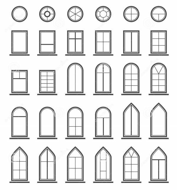 Какие окна лучше - выбираем форму окон для дома