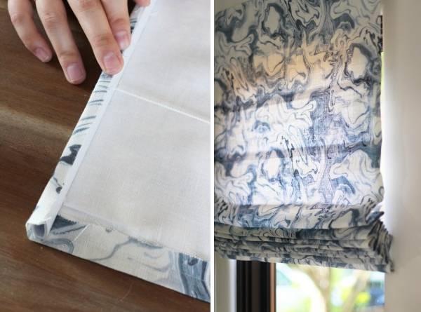 Римские шторы, сделанные своими руками