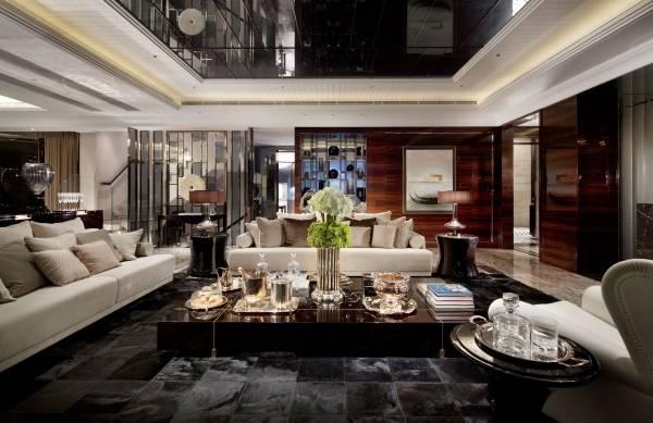 Дизайн в стиле хай тек - фото гостиной