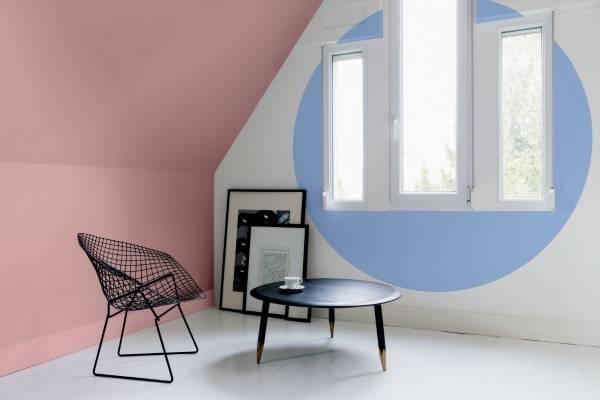 Модный цвет стен в интерьере 2016