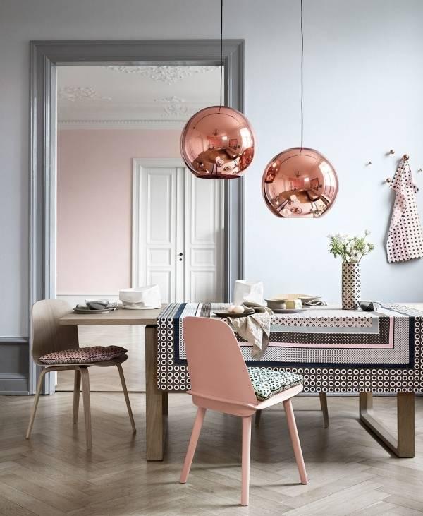 Дизайн интерьера в цветах 2016 года в современном стиле