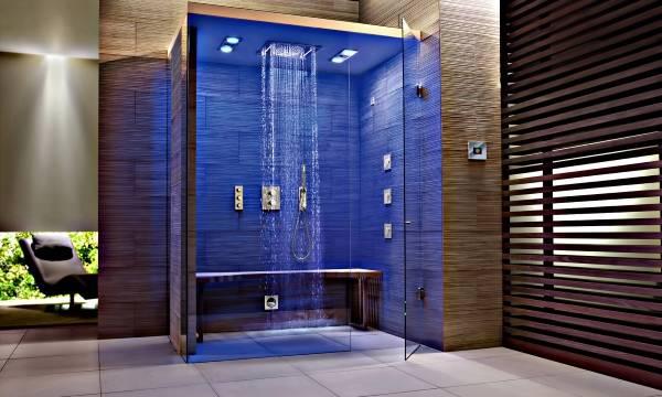Ванная в стиле хай тек - фото интерьера