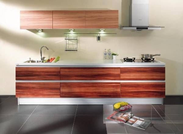 Кухня из досок меланина - новые тренды 2016