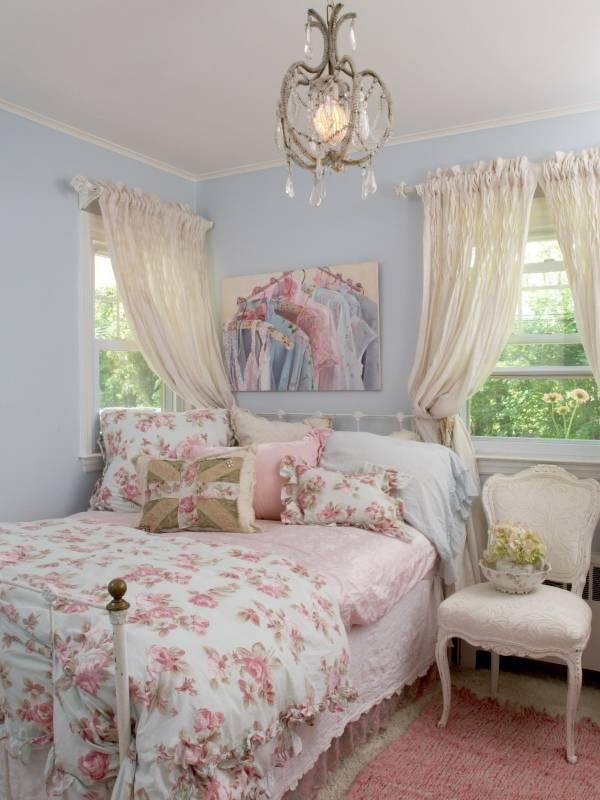 Интерьер спальни в модных цветах 2016