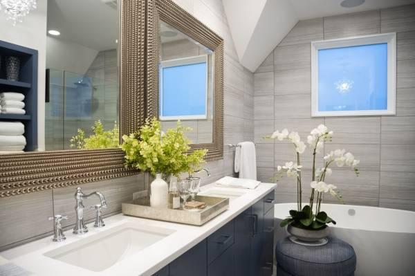 Ванная комната в стиле хай тек фото