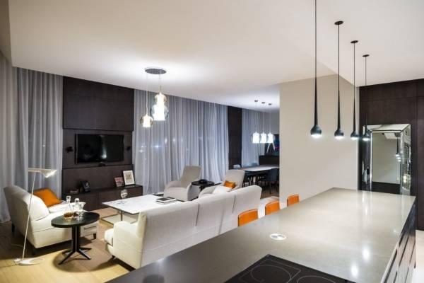 Стиль хай тек в интерьере квартиры