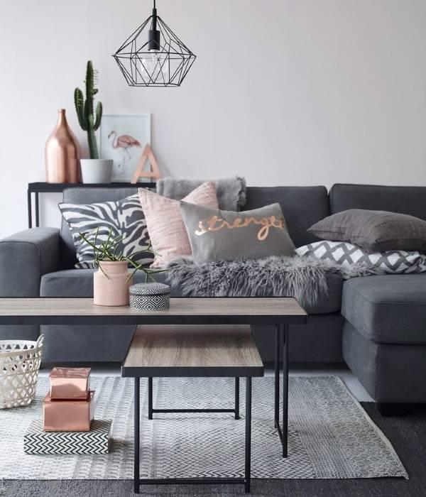 Розовый кварц в дизайне интерьера 2016