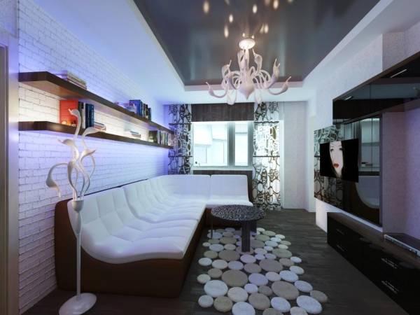 Мебель и светильники в стиле хай тек фото