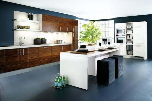 Кухонные фасады из ламината
