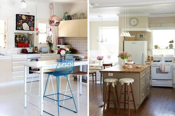 Винтажные кухни 2016 - новые тренды с фото