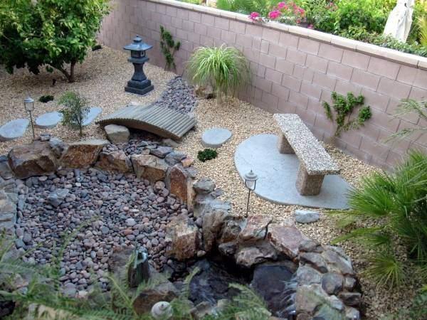 Восточноазиатский дизайн садового участка