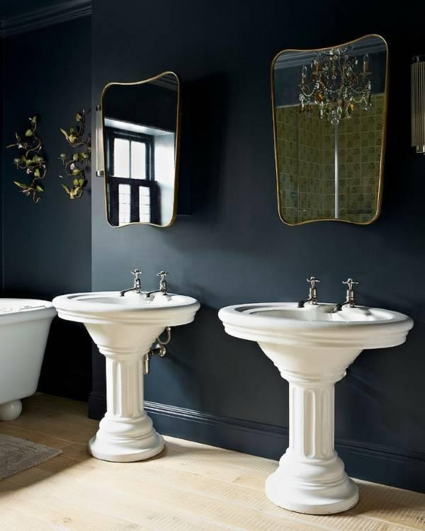 Креативные зеркала в ванную комнату фото