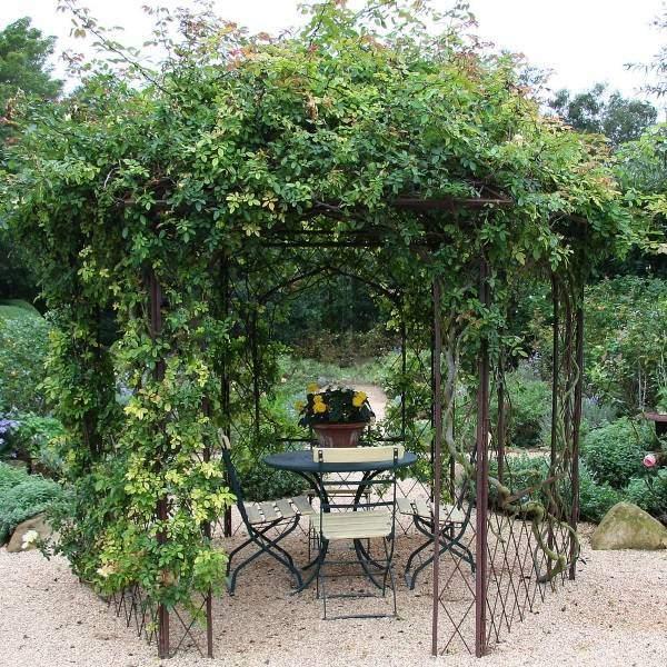 Идеи для сада - романтическая беседка