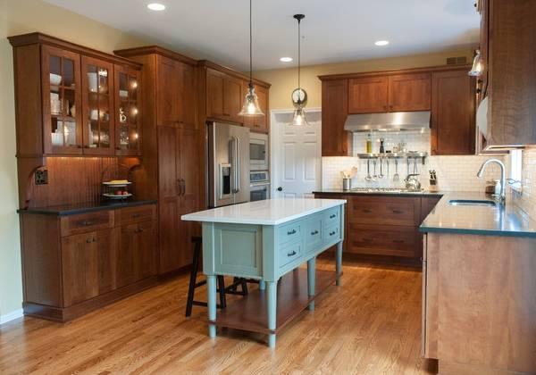 Интерьер кухни с островом фото дизайн