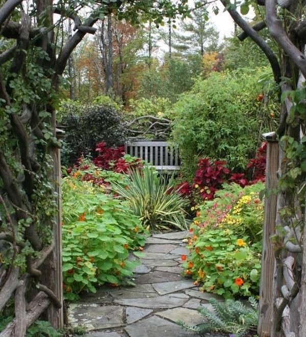 Классический дизайн сада и огорода фото