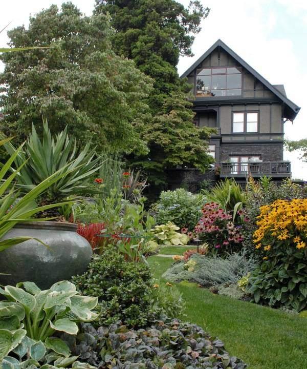 Планируем дизайн сада и участка зимой 2016