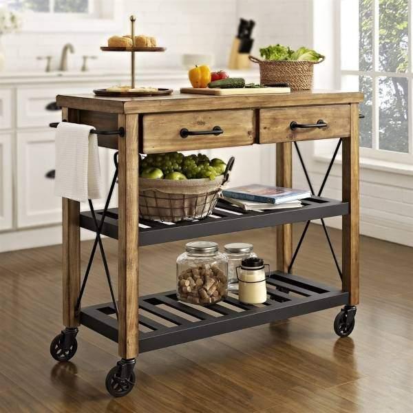 Кухонный остров для маленькой кухни фото