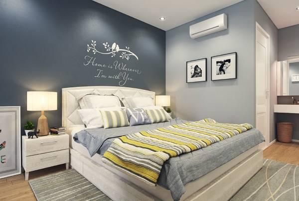 Модные цвета обоев для спальни 2015 2016