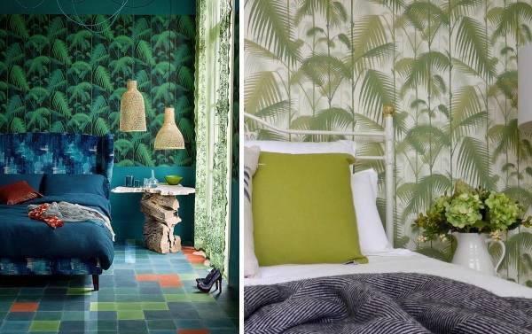 Стильный дизайн спальни - фото 2015 современные идеи обои
