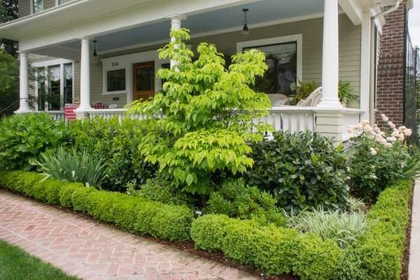 Садовый дизайн - украшение крыльца и веранды