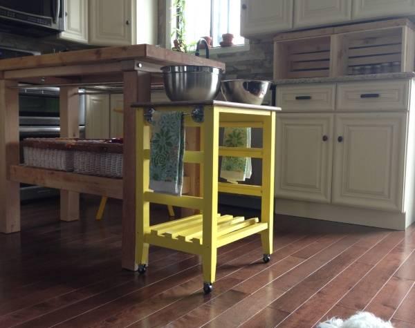 Многофункциональный стол остров для кухни фото