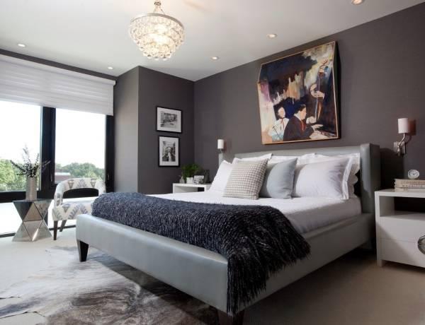 Какие цвета обоев для спальни лучше всего