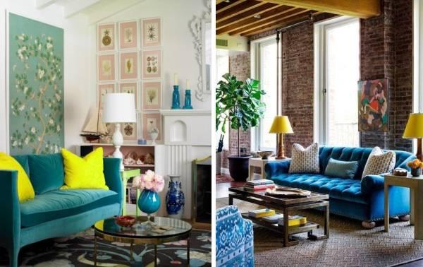 Желтые аксессуары и декор для дома