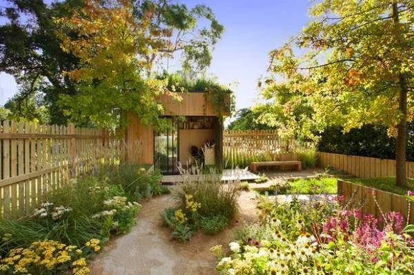 Дизайн сада в неухоженном заброшенном стиле 2016