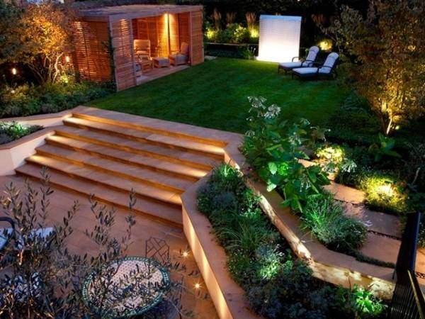 Минималистский садовый дизайн своими руками