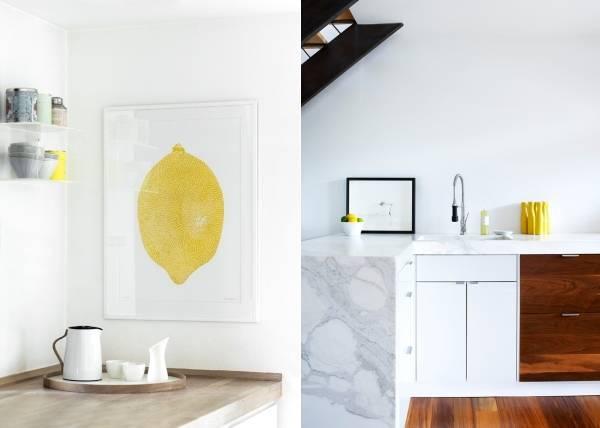 Бледно желтый цвет в интерьере дома на фото