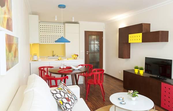 Перепланировка 4-комнатной квартиры: как отделить зону
