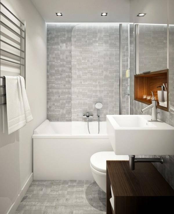 Шикарная ванная в дизайне квартиры 45 кв м фото