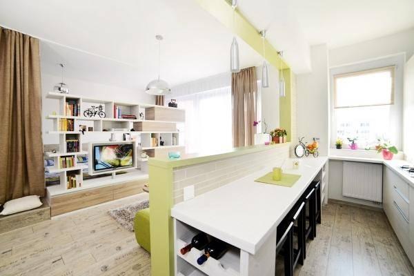 Потолок в ванной из гипсокартона дизайн 83