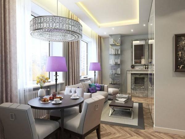 Luxury дизайн квартиры студии 35 кв м фото