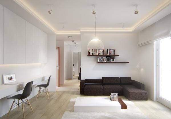 Лучшие примеры дизайна однокомнатной квартиры 40 кв м на 2016 год