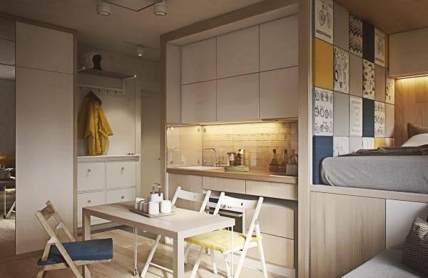 Дизайн 1 комн квартиры 40 кв м